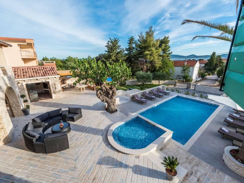 Ferienhaus mit Pool, Sukosan, Zadar, Dalmatien, Kroatien
