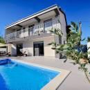 Vakantiehuis met zwembad Privlaka, Zadar, Dalmatië, Kroatië
