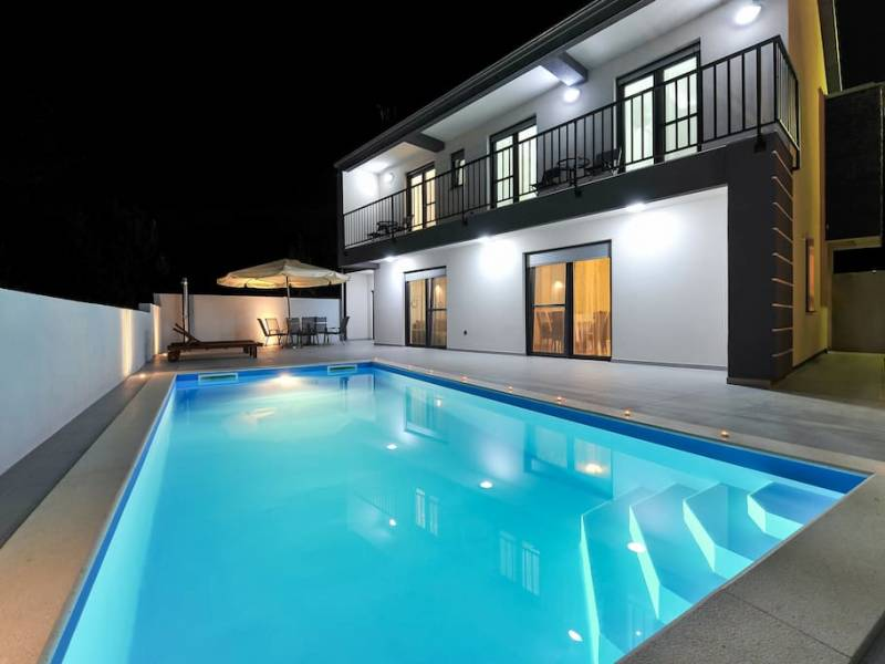 Holiday house with pool Privlaka, Zadar, Dalmatia, Croatia