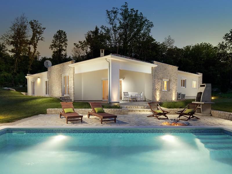 Luksuzna kuća s bazenom Vlašići, Kršan, Istra, Hrvatska