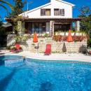 Holiday house with pool Seget Vranjica, Trogir, Dalmatia, Croatia