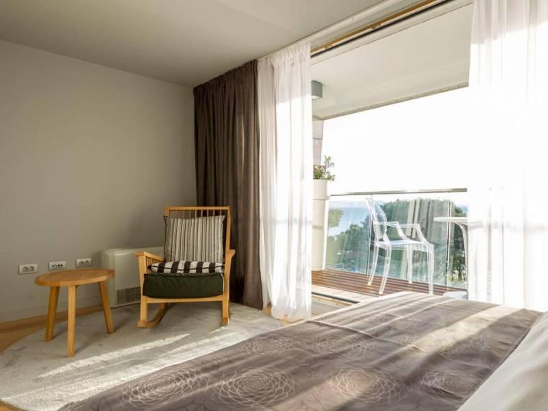 Luxus villa with pool direct on the sea, Petrcane, Zadar, Dalmatia, Croatia