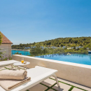 Luxury villa with pool on the island of Čiovo, Dalmatia, Croatia