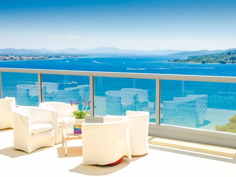 Hotel Punta, Vodice, Dalmácie, Chorvatsko