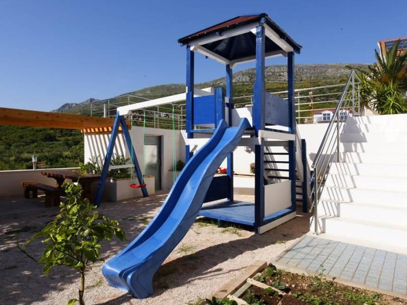 Villa di lusso con piscina e fitness, Podstrana, Spalato, Dalmazia, Croazia