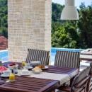 Villa con piscina e splendida vista mare sullisola di Iž, Dalmazia, Croazia