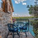 Villa with pool, direct on the sea, Milna, island Brac, Dalmatia, Croatia