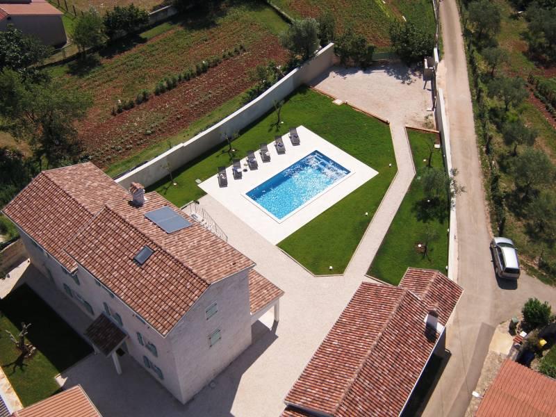 Villa Milic con piscina privata, Barat, Istria