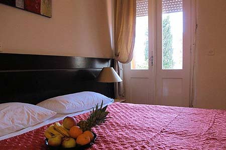 Vile Arbia, sobe Rio i Magdalena, Rab Bedroom with double bed