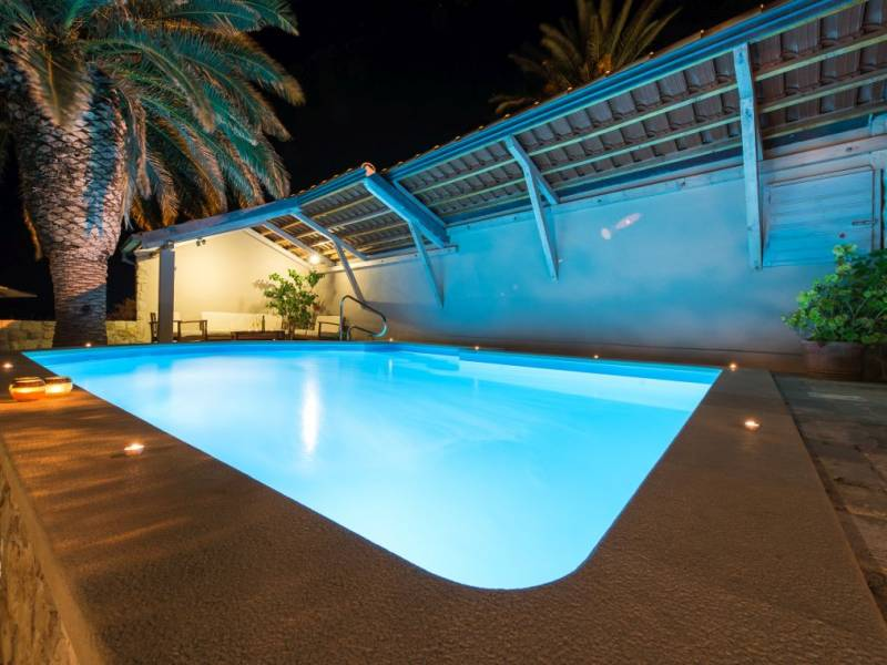 Villa Orebic with pool, direct at the sea, Dalmatia, Croatia