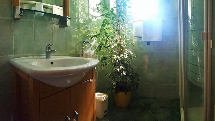 Ferienwohnungen Blanka, Banjol, Insel Rab, Kroatien WC-Bereich