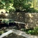 Ferienwohnungen Blanka, Banjol, Insel Rab, Kroatien Eigener Garten für FeWo A4 mit Grill