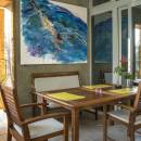 Ferienwohnungen Blanka, Banjol, Insel Rab, Kroatien Terrasse FeWo N2