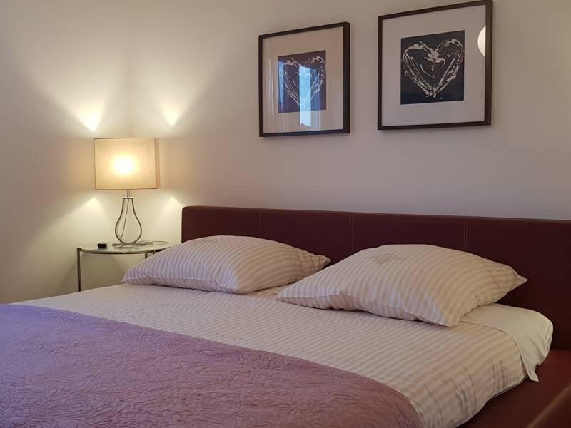 Ferienwohnungen Blanka, Banjol, Insel Rab, Kroatien Schlafzimmer FeWo Annabela