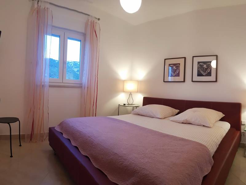 Ferienwohnungen Blanka, Banjol, Insel Rab, Kroatien FeWo Annabela Schlafzimmer