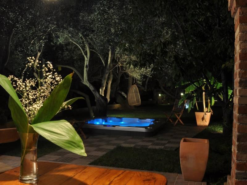 Ferienwohnungen Blanka, Banjol, Insel Rab, Kroatien Garten