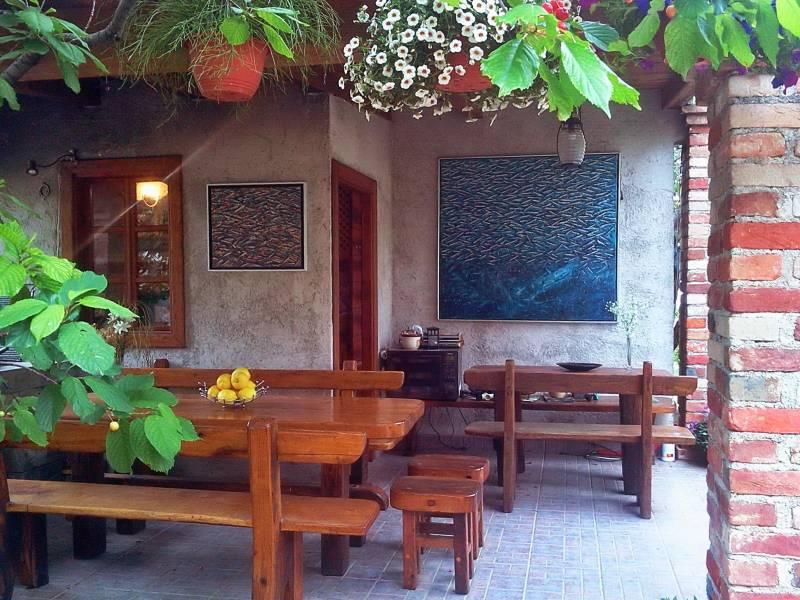 Ferienwohnungen Blanka, Banjol, Insel Rab, Kroatien Teil der Grill Haus