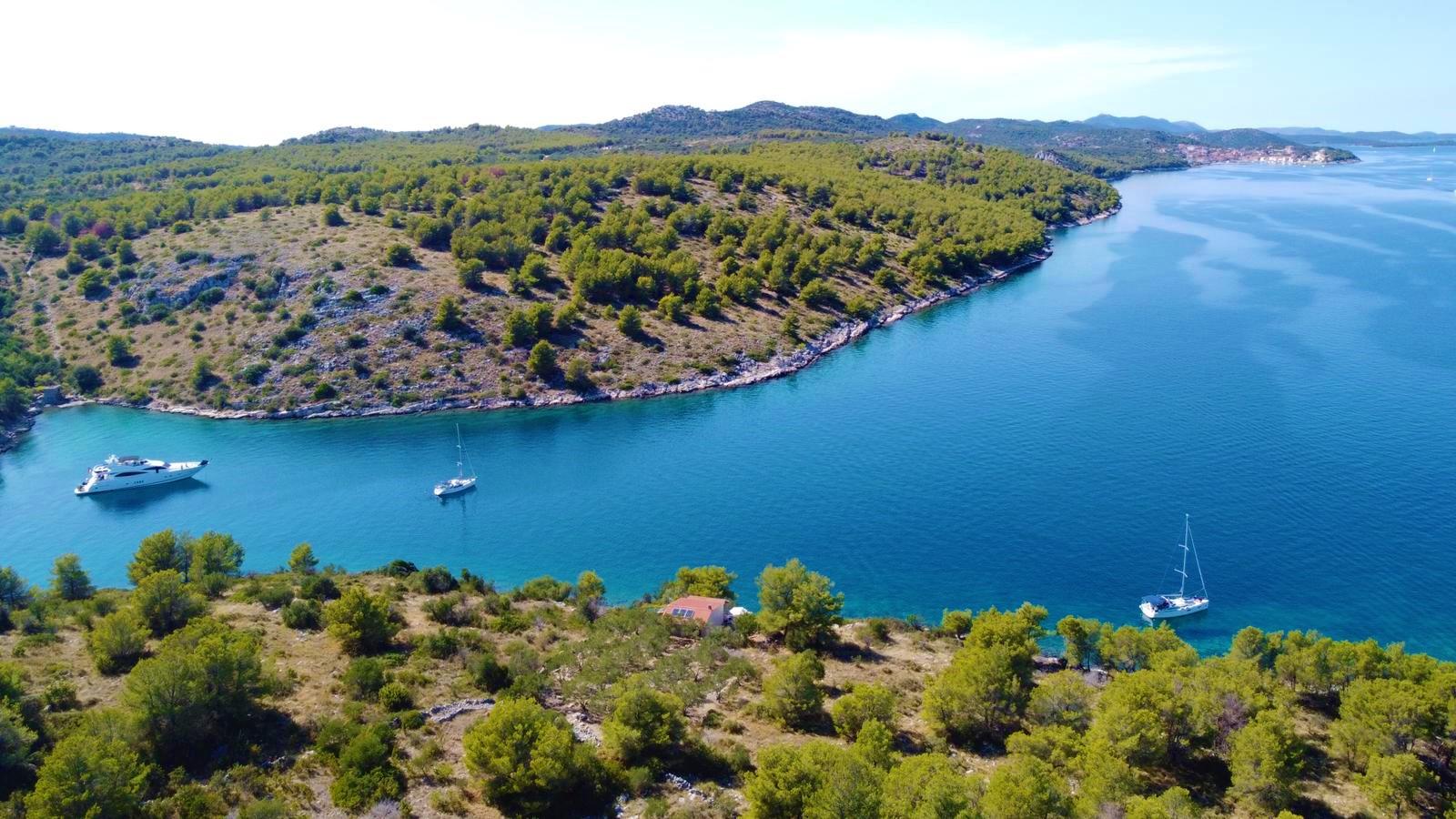 Robinzon hiša Oliva, Dugi otok, Dalmacija, Hrvaška