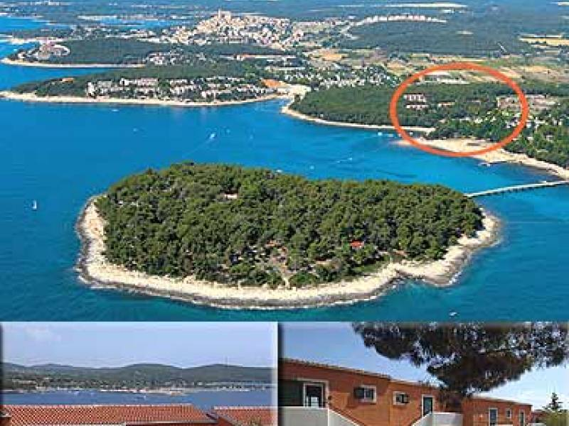 Naturist park Koversada apartments