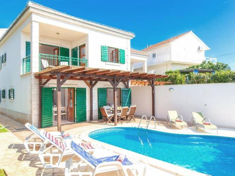 Villa with pool, island Brac, Dalmatia, CroatiaHvar - C