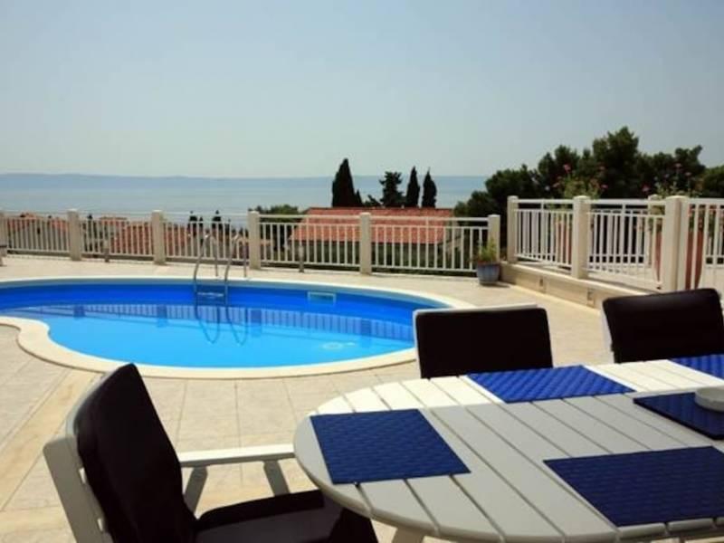 Vila s bazénem Sumartin, Ostrov Brac, Dalmácie, Chorvátsko