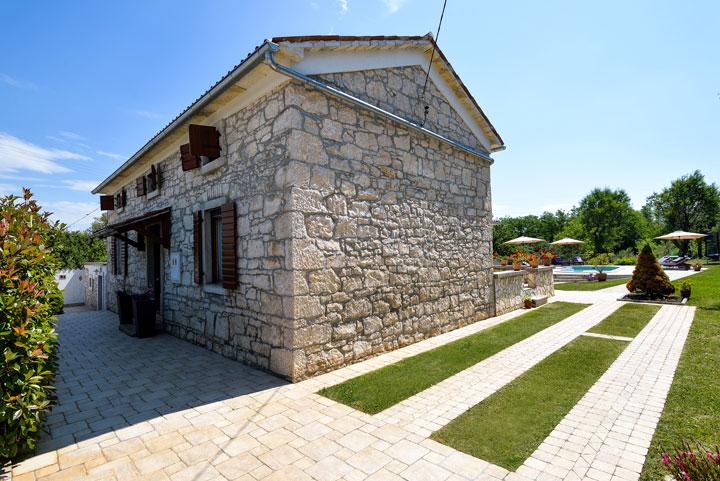 Vila s bazénem Nedescina, Rabac, Istrie, Chorvátsko