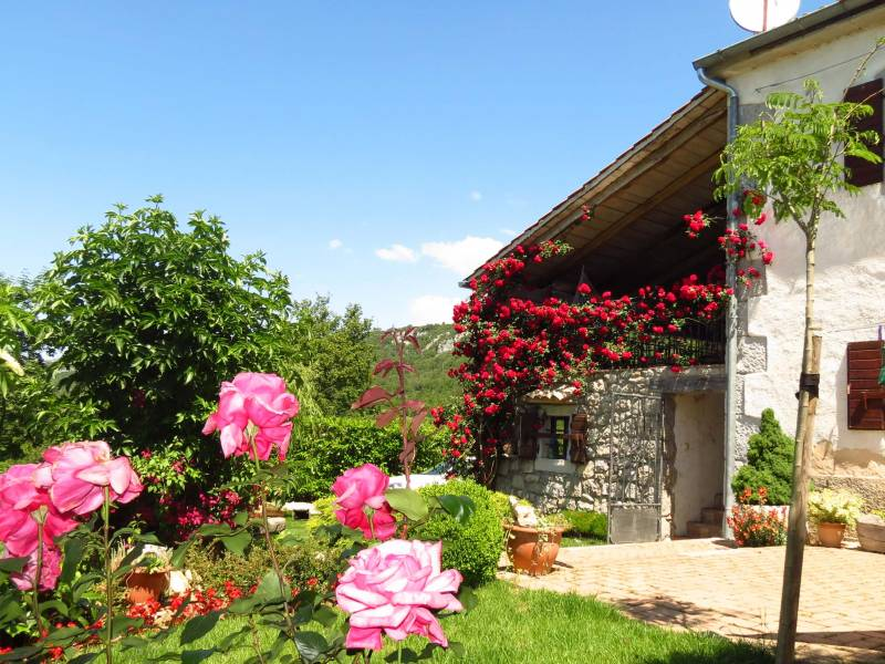 Počitiška hiša z bazenom, Roč, Istra, Hrvaška