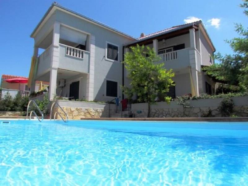 Villa with pool on Supetar, island Brac, Dalmatia, Croatia