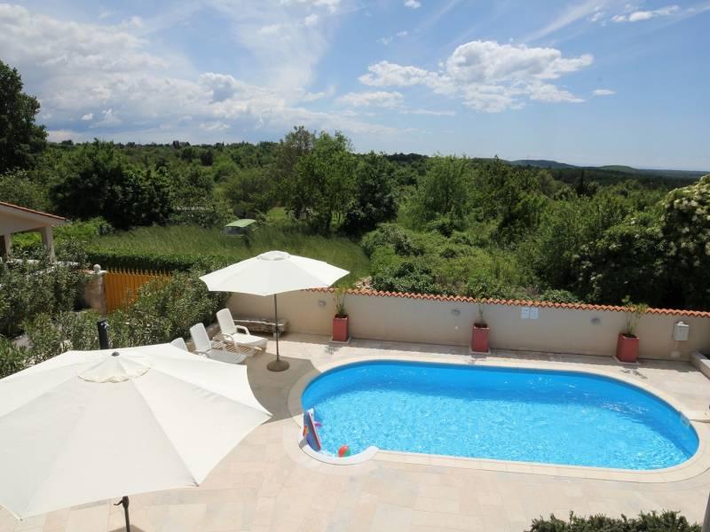 Počitiške hiše s skupnim bazenom, Burići, Kanfanar, Istra, Hrvaška Val/Aurora/Mirta bazen