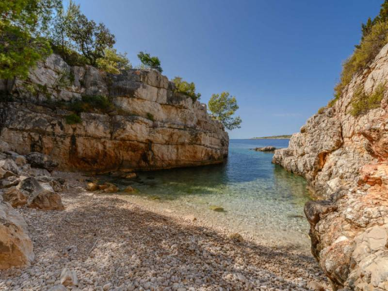 Luxury villa direct at the sea, island Drvenik Veliki, Dalmatia, Croatia