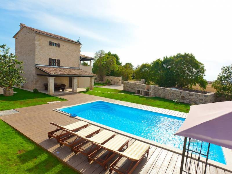 Počitniška hiša z bazenom Kanfanar, Rovinj, Istra