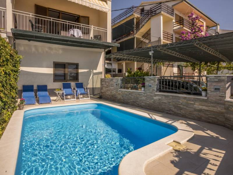 Villa with pool in Podstrana, Split, Croatia