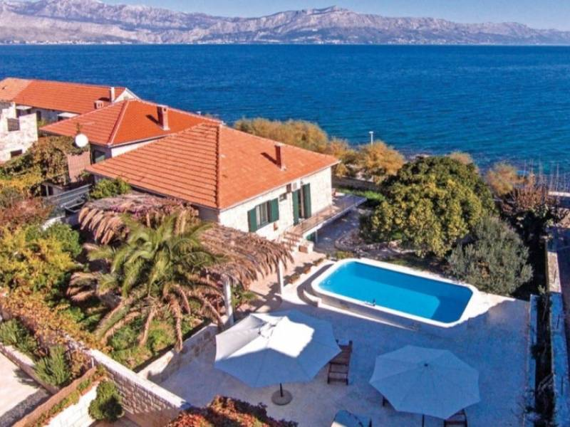 Holiday house Zoran with pool Postira, island Brac, Dalmatia, Croatia