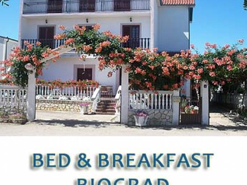 Bed and breakfast Biograd