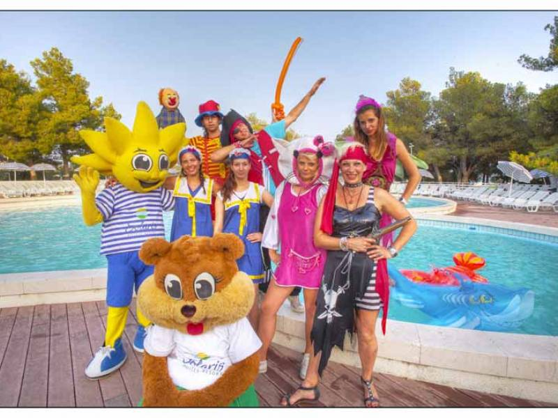 Amadria Park Kids Hotel Andrija ex Solaris, Sibenik, Dalmatien, Kroatien Animation