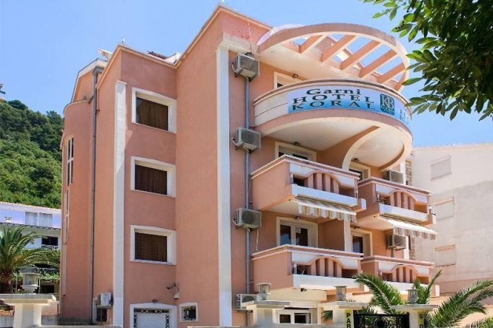 Отель Корал Hotel Koral Budva