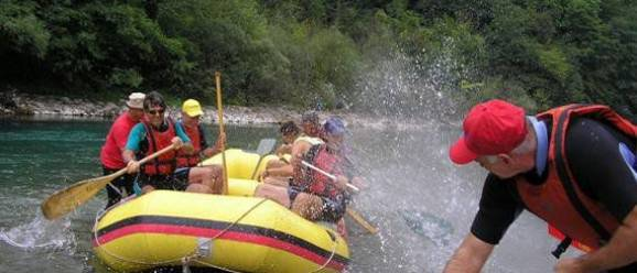 Rafting Camp Blue River Šćepan Polje 9