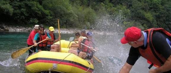 Rafting Camp Blue River Šćepan Polje 9